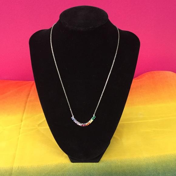 b47bdce87 Giani Bernini Jewelry | Gianni Bernini Rainbow Necklace | Poshmark